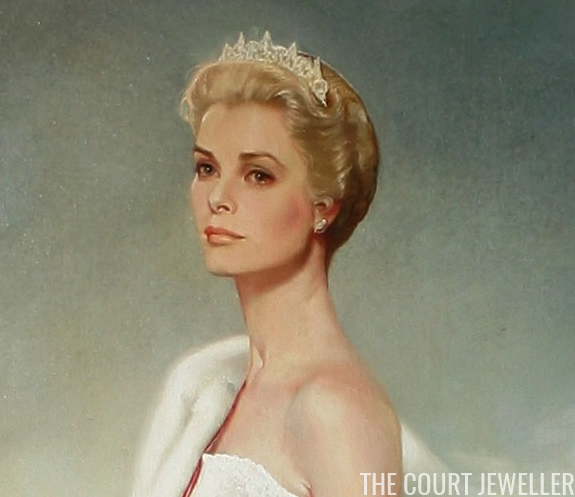 Princess Grace Wedding Ring 93 Great Wearing a mystery tiara