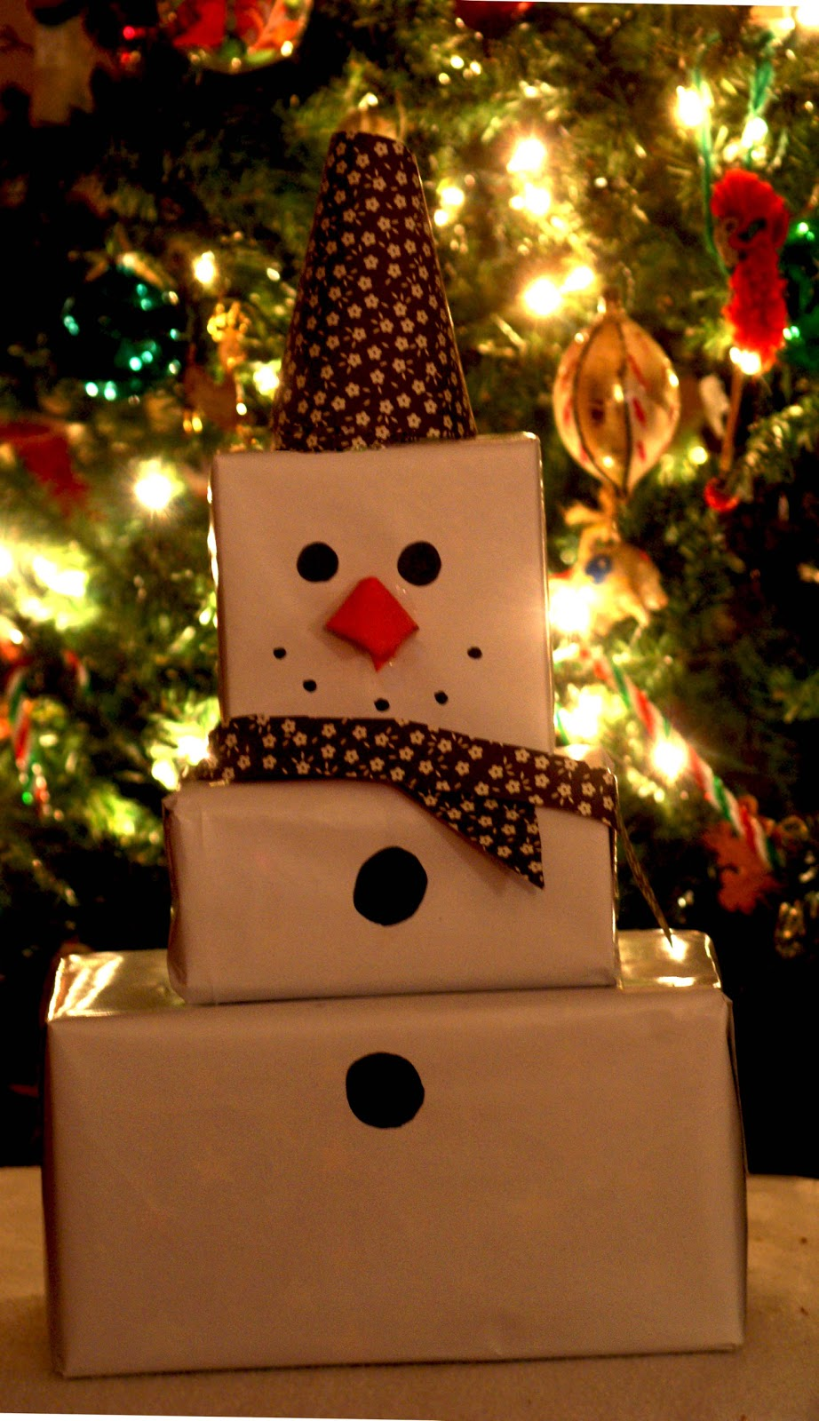 Sparkling silver and glittering gold wrapping make gifts ... |Wrapped Christmas Presents Under The Tree