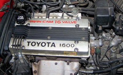 1983-1987 Toyota 1600 4A-GE Twin Cam 16-valve