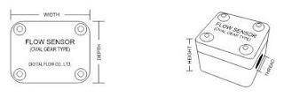 Specification Digital Flow DGT-025SIH- Oval gear Sensor
