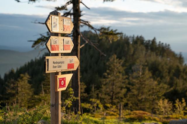 Künischer Grenzweg auf den Osser | Wanderweg La1 im Lamer Winkel | Wandern im Bayerischen Wald | Naturpark Oberer Bayerischer Wald 23