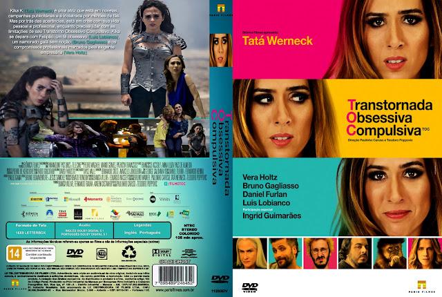 Capa DVD TOC Transtornada Obsessiva Compulsiva
