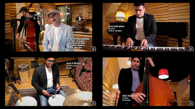 AR-Latin - ¨Mi lecho está tendido¨ - Videoclip - Dirección: Raquel Plumed - R&R Productions. Portal Del Vídeo Clip Cubano. Música cubana. Cuba.