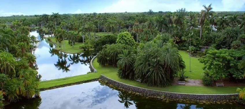 Natureza no Fairchild Tropical Botanic Garden em Miami