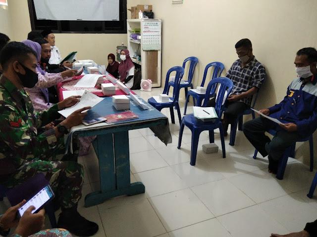 Babinsa Bobotsari Hadiri Rapat Pleno Rekapitulasi DPHP Pilkada Tahun 2020