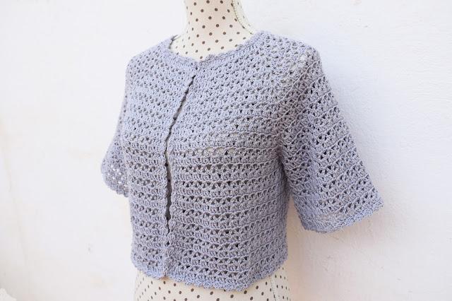 6 - Crochet Bolero para mujer a crochet y ganchillo Majovel Crochet facil sencillo bareta paso a paso DIY puntada punto alto punto bajo