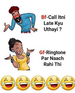 Jokes on girls in hindi : ladkiya bholi nahi hoti janab....
