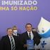 Plano de vacinação contra a Covid-19 no Brasil é apresentado pelo Presidente Bolsonaro e Ministro Pazuello