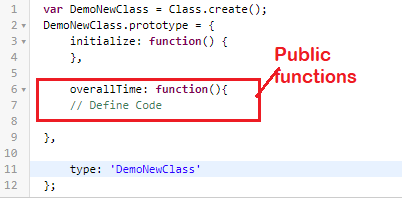 Define Public Function in Script Include