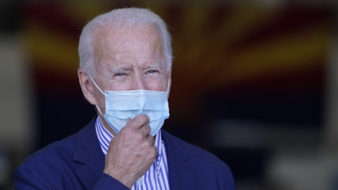 Biden says that deception in the polls is the only way he could lose the US election