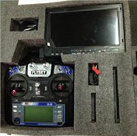 Floureon Racer 250 Quadcopter flysky Transmitter