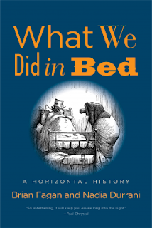 What We Did in Bed by Brian Fagan & Nadia Durrani book cover