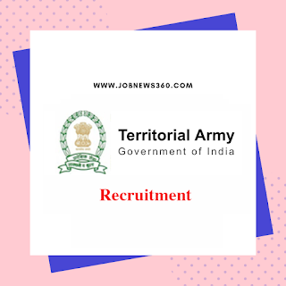 Territorial Army Recruitment 2019 for officer posts