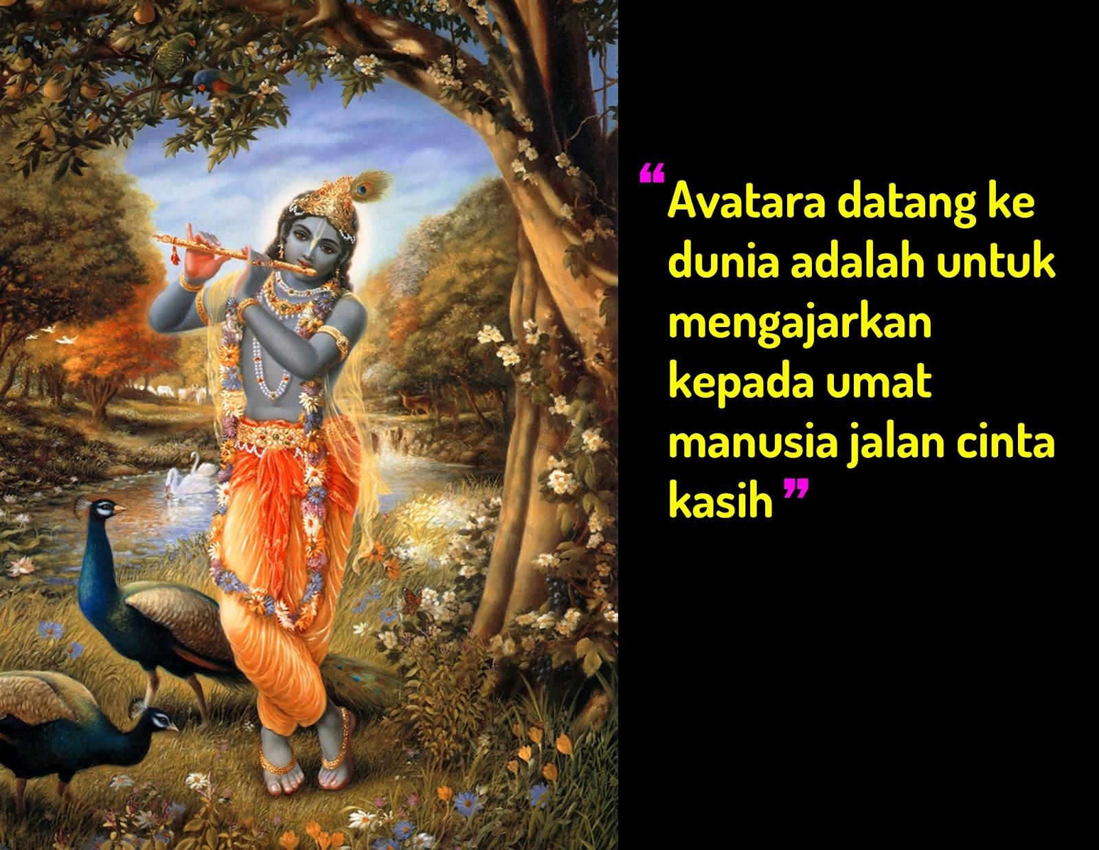 Mutiara Hindu  Apakah Makna dari nama Krishna