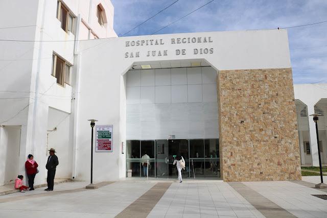 Hospital Regional San Juan de Dios cuenta con la primera sala de Terapia Intensiva para pacientes con Covid-19 / RRSS