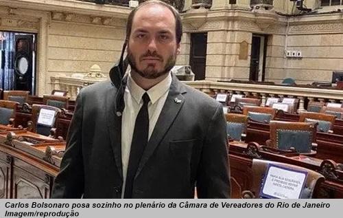 www.seuguara.com.br/Carlos Bolsonaro/rachadinhas/peculato/