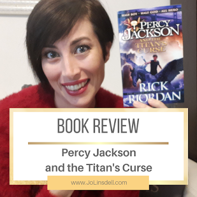 Book Review: Percy Jackson and the Titan's Curse by Rick Riordan