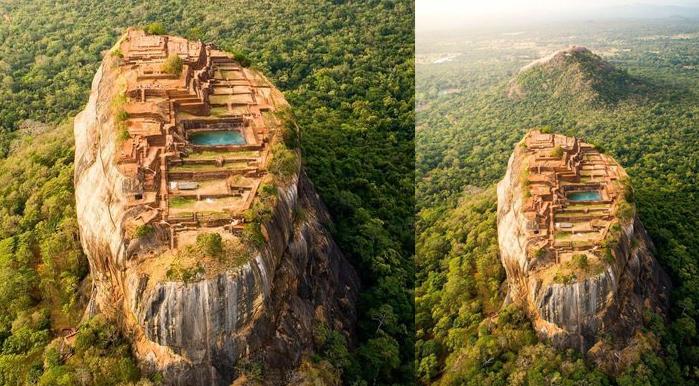 Sigiriya or Sinhagiri Lion Rock Sinhala, Tourist destination