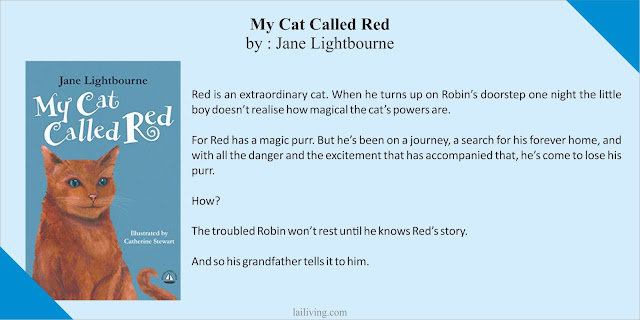 my cat called red jane lightbourne