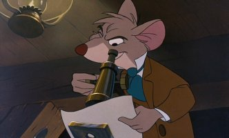 Basil The Great Mouse Detective 1986 Vincent Price animatedfilmreviews.filminspector.com