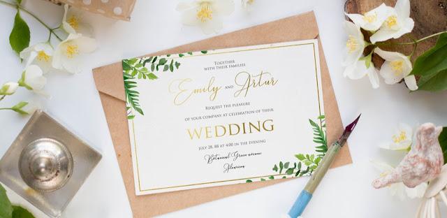 5 Cara Membuat Desain Undangan Pernikahan Menarik Tahun 2020