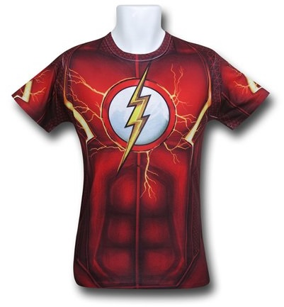 "30 Gifts for ""The Flash"" Lover in Your Life Dc Comics cosplay costume t-shirt"