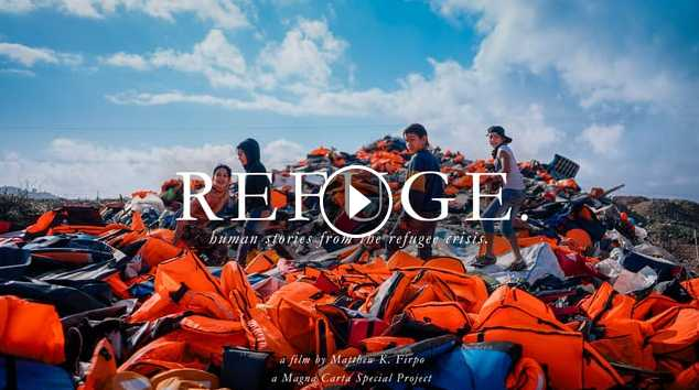 REFUGE Human stories from the refugee crisis