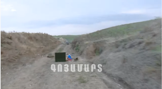 Արցախա-ադրբեջանական հակամարտ զորքերի շփման գծի ողջ երկայնքով մարտերը շարունակվում են. Տեսանյութ