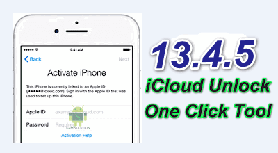 13.4.5 iCloud Activation Lock Bypass Tool Download