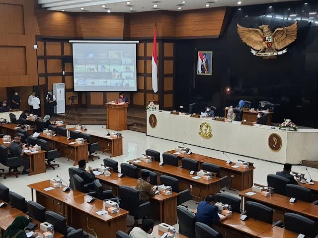 Tidak Tercapai Target, Gubernur Jabar Sampaikan APBD Perubahan 2021 Berkurang Rp.5,48 Triliun