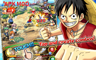 Download One Piece Treasure Cruise Mod Infinite Health For Android