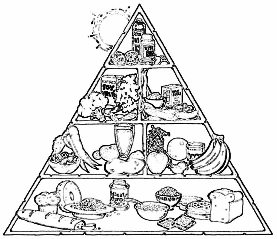 Fichas de Inglés para niños: Worksheets food