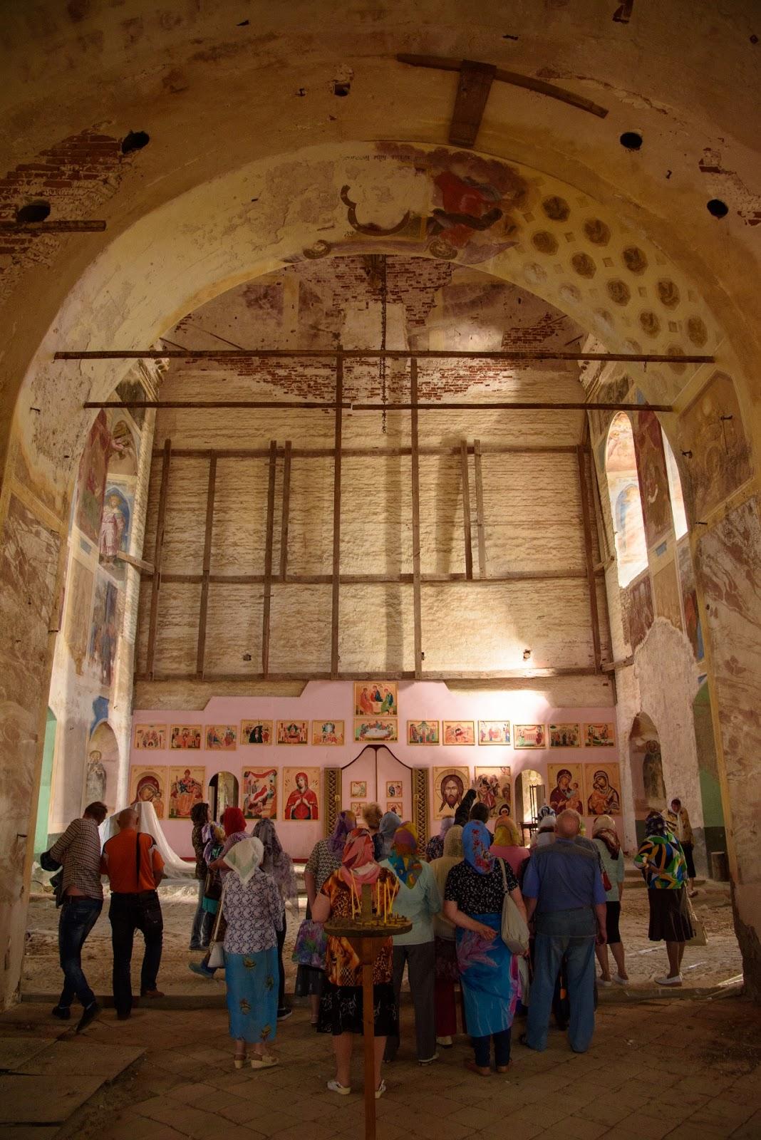 Храм в Парском. Ивановская область