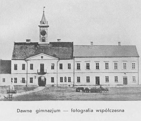 Dawne Gimnazjum w Jaśle 1938