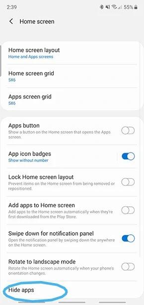 كيفية إخفاء التطبيقات على جهاز أندرويد الخاص بك