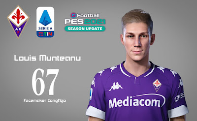 PES 2021 Faces Louis Munteanu by CongNgo