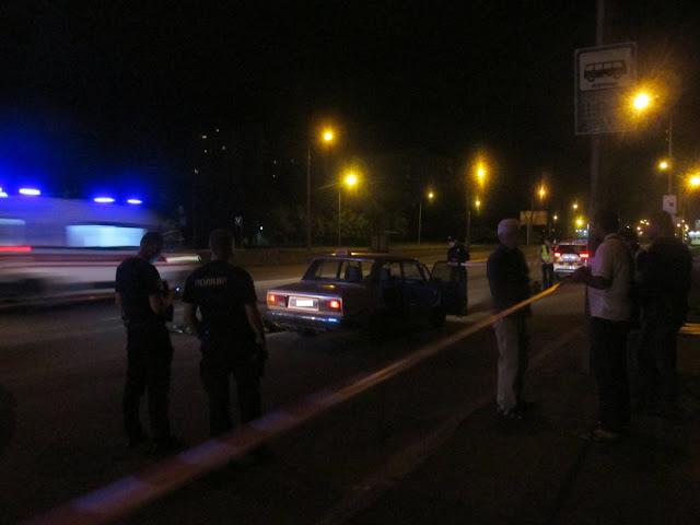 Страшна ДТП: столичне таксі насмерть збило людину