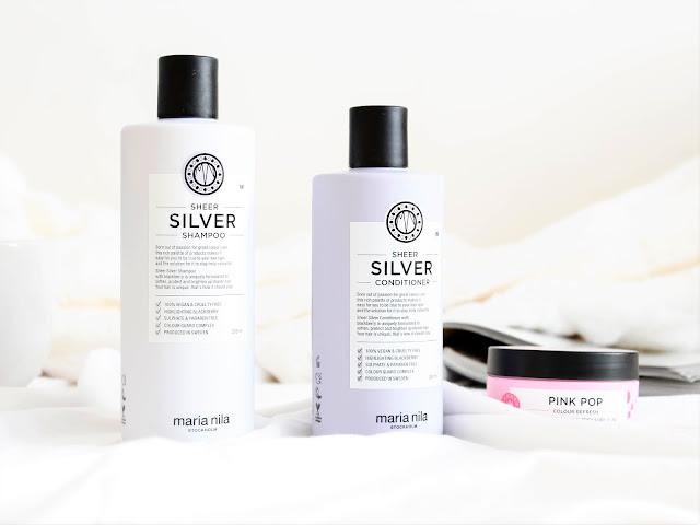 šampon a kondicionér pro blond vlasy sheer silver