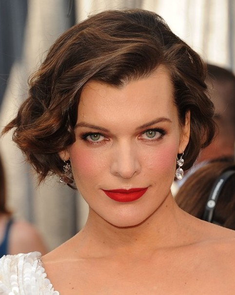 Wavy Bob For Short Curly Hairstyles