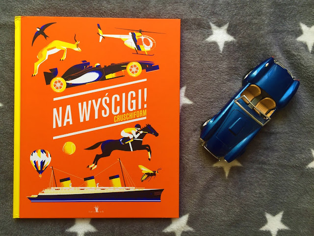 """Recenzje #197 - """"Na wyścigi!"""" - okładka książki - Francuski przy kawie"""