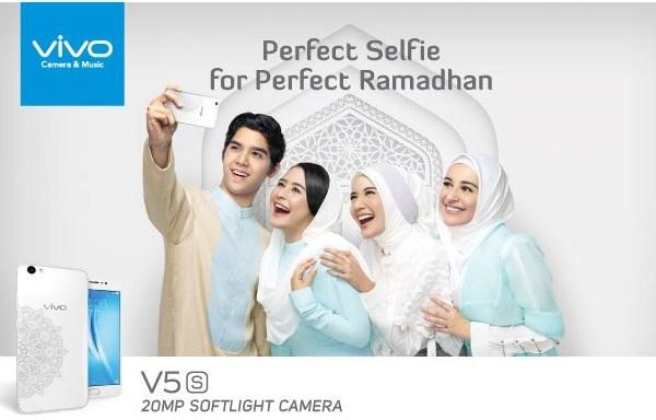 Vivo V5s Putih Edisi Ramadhan