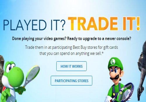 Best Buy Game Trade In 3 Games & Get $100 Credit