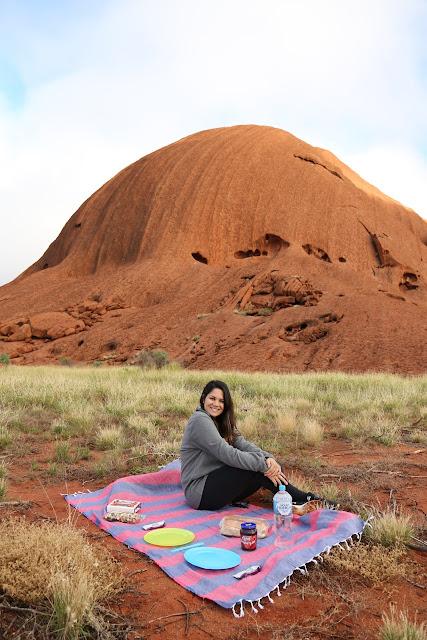 Café-da-manhã no Uluru