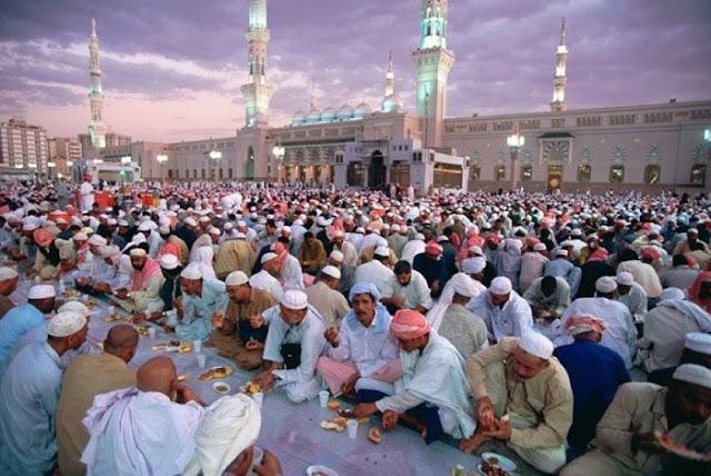Arab Saudi adalah Negara dengan Waktu Puasa Terlama di Dunia