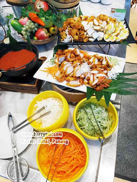 Pasembur Salmon Buffet Penang Buffet Eastin Hotel Penang Penang Malaysia Blogger Influencer