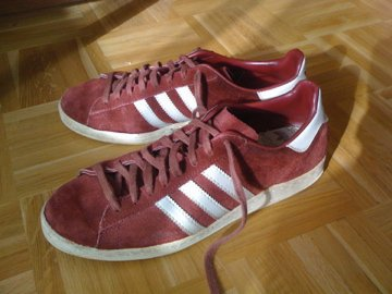 co2styles: VINTAGE ADIDAS CAMPUS MADE IN FRANCE SIZE 10