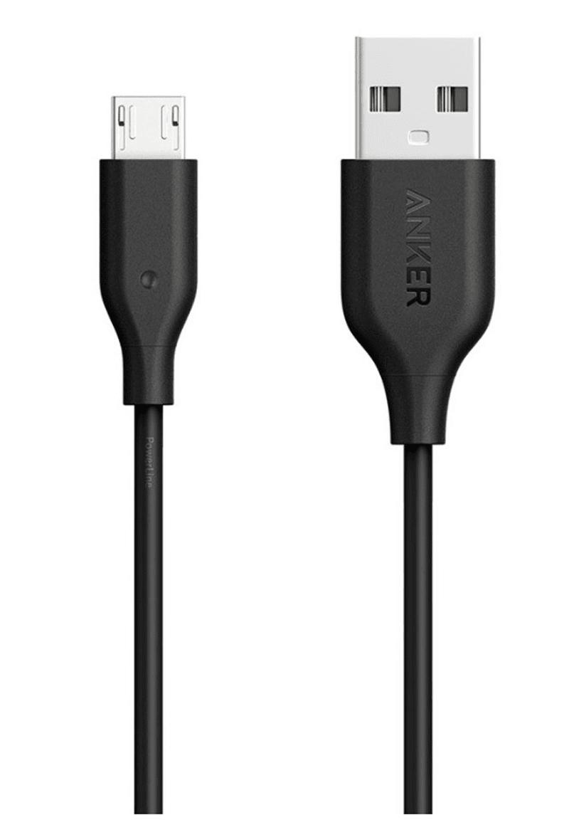 Anker PowerLine Micro USB 3ft
