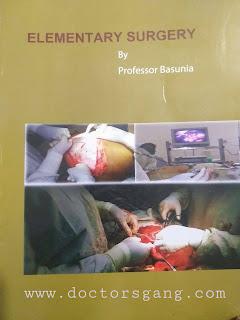 Elementary Surgery by Prof Basunia