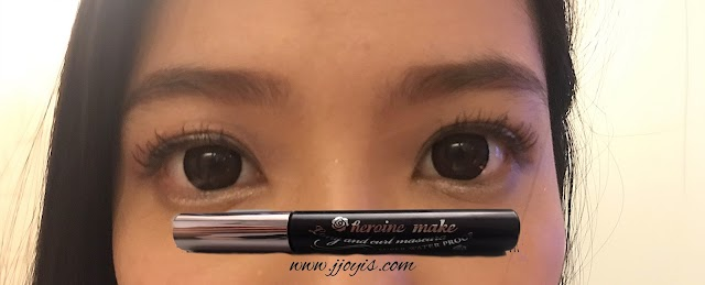 Review: Heroine Make Long and Curl Mascara (Super Waterproof Black)