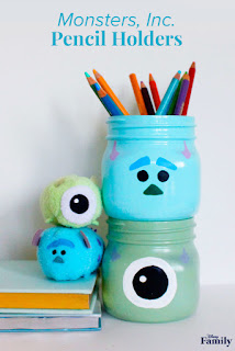 Monster Inc DIYs